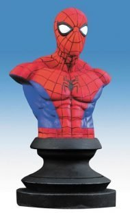 MARVEL ICONS - SPIDER-MAN HEAD BUST 13CM