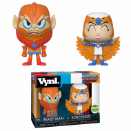 MASTERS OF THE UNIVERSE – SORCERESS AND BEAST-MAN – FUNKO VYNL 2 PACK