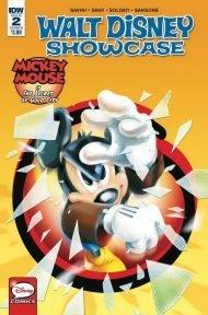 Walt Disney Showcase Vol 2 #2 Mickey Mouse Davide Cesarello Variant Cover