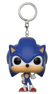 SONIC THE HEDGEHOG - SONIC W/ RING - FUNKO KEYCHAIN VINYL FIGURE