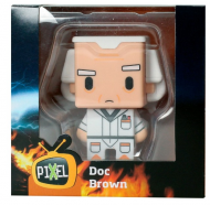 BACK TO THE FUTURE - DOC. BROWN - PIXEL FIGURE