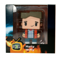 BACK TO THE FUTURE - MARTY - PIXEL FIGURE