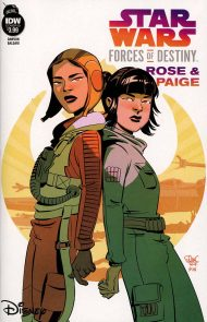 Star Wars Adventures: Forces Of Destiny - Rose & Paige Elsa Charretier Variant Cover