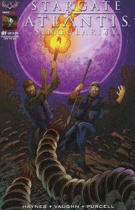 Stargate Atlantis: Singularity #1 Clint Hilinski Variant Premium Cover - LIMITED EDITION TO 350 UNITS