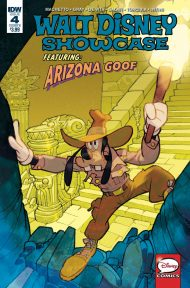 Walt Disney Showcase Vol 2 #4 Corrado Mastantuono Goofy Variant Cover