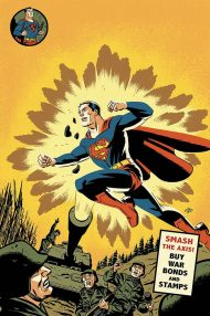 Action Comics Vol 2 #1000 Michael Cho 1940's Variant Cover (Cover C)