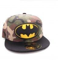 BATMAN - BACK CAP - CAMOUFLAGE LOGO