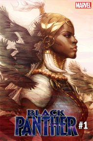 Black Panther Vol 7 #1 Tanley Artgerm Lau Variant Cover
