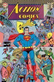 Action Comics Vol 2 #1000 Michael Allred 1960's Variant Cover (Cover E)