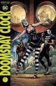 Doomsday Clock #6 Gary Frank Variant Cover