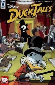 Ducktales Vol 4 #8 Marco Ghiglione Regular Cover