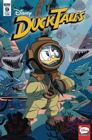 Ducktales Vol 4 #9 Marco Ghiglione Variant Cover