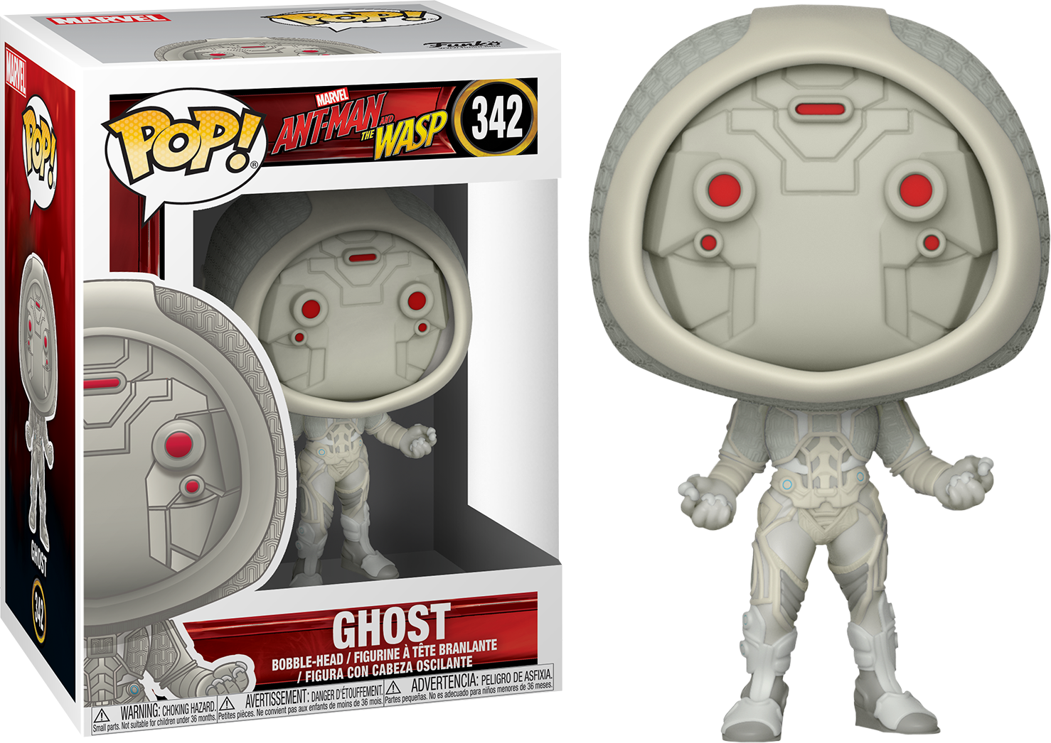 MARVEL - ANT-MAN AND THE WASP – GHOST – FUNKO POP! VINYL FIGURE ... 291eb07d10eb