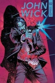 John Wick #2 Giovanni Valletta Regular Cover