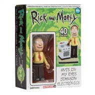 RICK AND MORTY - ANTS IN MY EYES JOHNSON ELECTRONICS - MICRO CONSTRUCTION SET WAVE 1