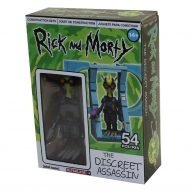 RICK AND MORTY - DISCREET ASSASSIN - MICRO CONSTRUCTION SET WAVE 1