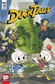 Ducktales Vol 4 #10 Marco Ghiglione Regular Cover