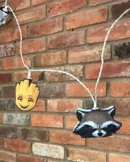 GUARDIANS OF THE GALAXY - ROCKET & GROOT 2D STRING LIGHTS