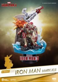 MARVEL - IRON MAN MARK XLII - PVC DIORAMA 15 CM