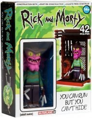 RICK AND MORTY - SCARRY TERRY - MICRO CONSTRUCTION SET WAVE 1