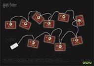 HARRY POTTER - HOGWARTS EXPRESS 9¾ 2D STRING LIGHTS