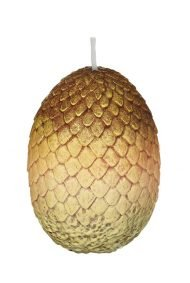 VOTIVE CANDLE - GAME OF THRONES GOLD DRAGON EGG