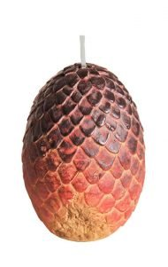 VOTIVE CANDLE - GAME OF THRONES RED DRAGON EGG