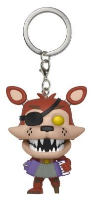 FIVE NIGHTS AT FREDDY'S: PIZZERIA SIMULATOR - ROCKSTAR FOXY - FUNKO KEYCHAIN VINYL FIGURE