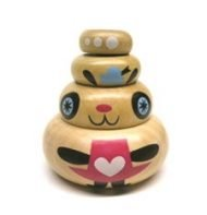 JIBIBUTS ARTIST SERIES – WOODEN BLIND BOX BY NOFERIN (OPEN BOX)