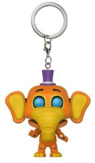 FIVE NIGHTS AT FREDDY'S: PIZZERIA SIMULATOR - ORVILLE ELEPHANT - FUNKO KEYCHAIN VINYL FIGURE