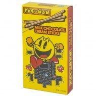BOSTON AMERICA - PAC-MAN MILK CHOCOLATE CREAM STICKS 36G