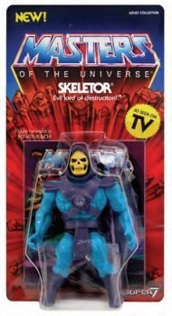 MASTERS OF THE UNIVERSE - SKELETOR - ACTION FIGURE VINTAGE COLLECTION 14 CM