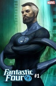 Fantastic Four Vol 6 #1 Stanley Artgerm Lau Mr. Fantastic Variant Cover