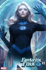 Fantastic Four Vol 6 #1 Stanley Artgerm Lau Invisible Woman Variant Cover
