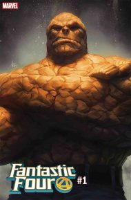 Fantastic Four Vol 6 #1 Stanley Artgerm Lau The Thing Variant Cover
