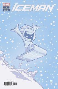 Iceman Vol 4 #1 Skottie Young Baby Variant Cover