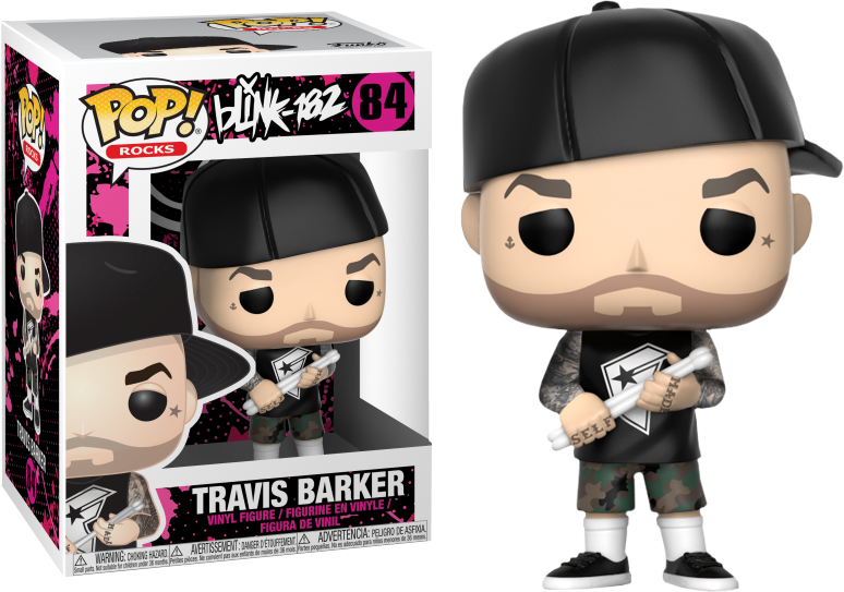 Rocks Blink 182 Travis Barker Funko Pop Vinyl
