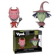 NIGHTMARE BEFORE CHRISTMAS – LOCK & SHOCK – FUNKO VYNL 2 PACK