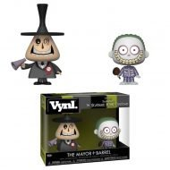 NIGHTMARE BEFORE CHRISTMAS – MAYOR & BARREL – FUNKO VYNL 2 PACK