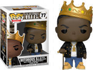 NOTORIOUS B.I.G. - NOTORIOUS B.I.G. WITH CROWN - FUNKO POP! VINYL FIGURE