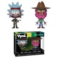 RICK AND MORTY – SEAL TEAM RICK & SCARRY TERRY – FUNKO VYNL 2 PACK