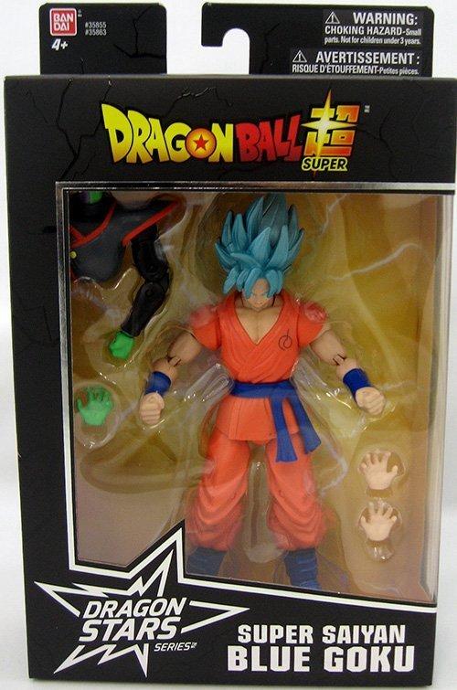 Dragonball Super Super Saiyan Blue Goku Dragon Stars