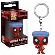 DEADPOOL PLAYTIME – DEADPOOL BATHTIME – FUNKO KEYCHAIN VINYL FIGURE