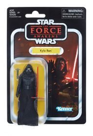THE BLACK SERIES VINTAGE - STAR WARS EPISODE VII - KYLO REN ACTION FIGURE