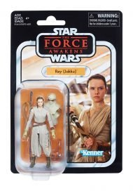 THE BLACK SERIES VINTAGE - STAR WARS EPISODE VII - REY JAKKU ACTION FIGURE