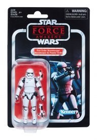 THE BLACK SERIES VINTAGE - STAR WARS EPISODE VII - FIRST ORDER STORMTROOPER ACTION FIGURE