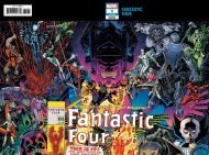 Fantastic Four Vol 6 #1 Arthur Adams Wraparound Connecting Variant Cover (1 Of 2)