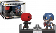 MARVEL - MOVIE MOMENTS CAPTAIN AMERICA VS. RED SKULL - FUNKO POP! VINYL FIGURE