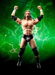 S.H. FIGUARTS – WWE – TRIPLE H – ACTION FIGURE 16 CM
