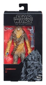 THE BLACK SERIES – STAR WARS – 2018 CHEWBACCA EXCLUSIVE ACTION FIGURE